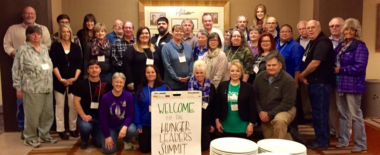 group shot of Hunger Leader Summit attendees 2015